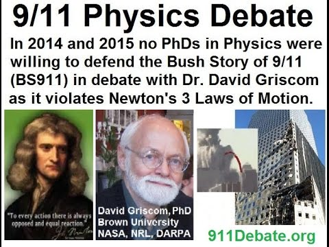 9/11 Physics Debate 2015 - Dr. David Griscom wins again