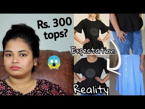 500 ரூபாய்க்கு Branded Jeans ஆ? Myntra Online Shopping Haul | Myntra Haul-Online Jeans-Western Tops