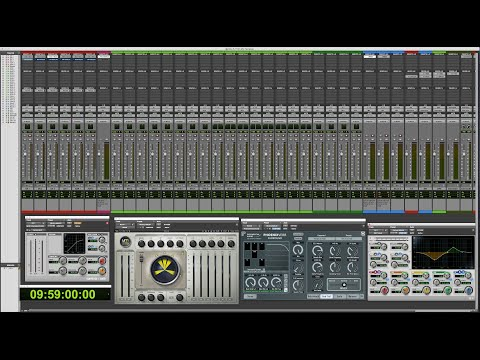 How to create Pro Tools templates for post production