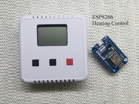 ESP8266 wifi room stat with display project Part1