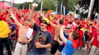 The Best Fans in the world are Belgian [Belgium national football team]