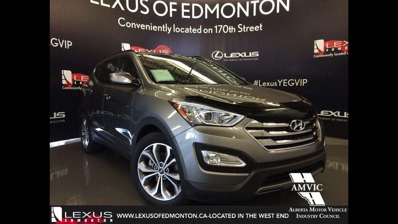 Used Hyundai Santa Fe Sport >> Used 2014 Grey Hyundai Santa Fe Sport AWD 2.0T Premium In Depth Review Sherwood Park Alberta ...