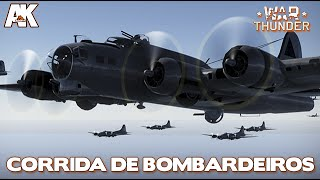 WAR THUNDER: CORRIDA DE BOMBARDEIROS (live com os inscritos)
