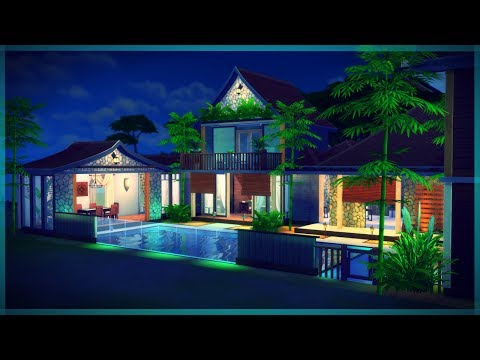 The Sims 4 House Build | Tropical Getaway
