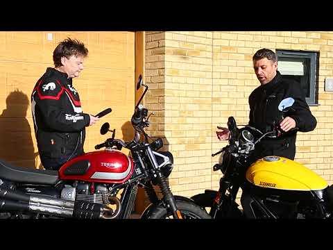 Ducati Scrambler Full Throttle vs Triumph Street Scrambler