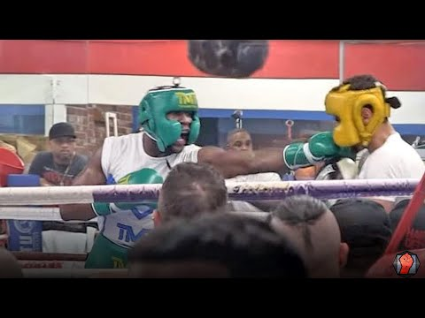 UNSEEN SPARRING FOOTAGE - FLOYD MAYWEATHER SPARRING FOR CONOR MCGREGOR