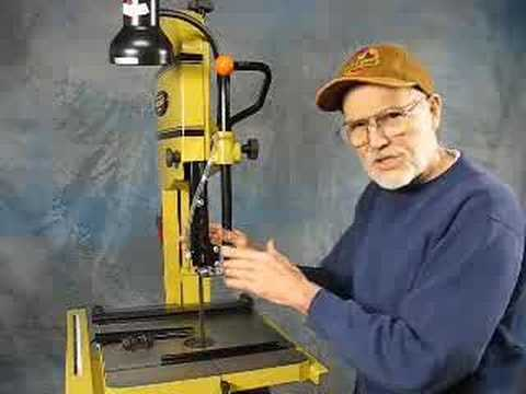Squaring Up Riser Block On A Powermatic 14 Band Saw Youtube