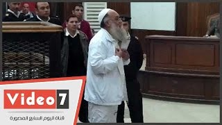 محمد الظواهرى للمحكمة: واثق من براءتى ولا أخشى إلا الله
