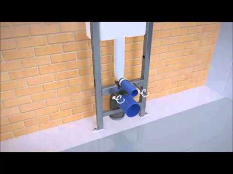 Kolo Wall Hung Toilet Carrier YouTube