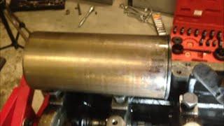 Dry Sleeve Cylinder Liner Removal - JCB Backhoe Project Part 3 (Perkins Diesel)
