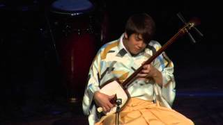 Tsugaru jamisen artists from Japan, Yoshida Brothers' first perform...