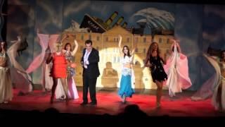 ΓΟΜΑΡΙΑ ΜΕ ΣΑΜΑΡΙΑ   epitheorisi Stathi Psalti sti kipro. with show Ballet Permiera