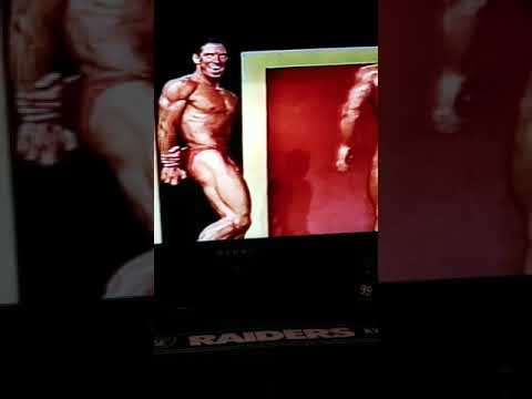 Dr. George Conley Jr. Pose Down In The Overall Title In The 93 Cali Novice Bodybuilding Championship