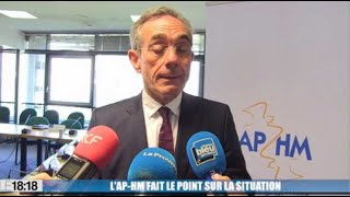 L'AP-HM fait le point sur la situation