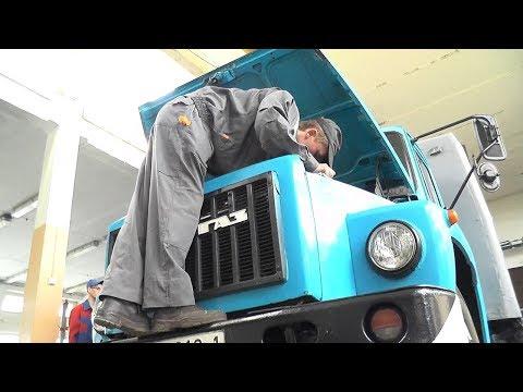Лучшего водителя автомобиля из учреждений профтехобразования области выбрали в Пинске