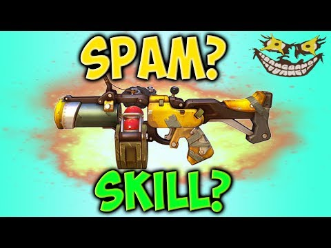 JUNKRAT'S WEAPON: SKILL OR STRAIGHT-UP SPAM?