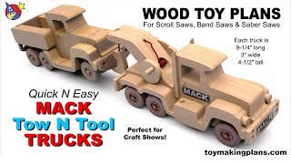 Quick N Easy Mack Tow N Tool Trucks