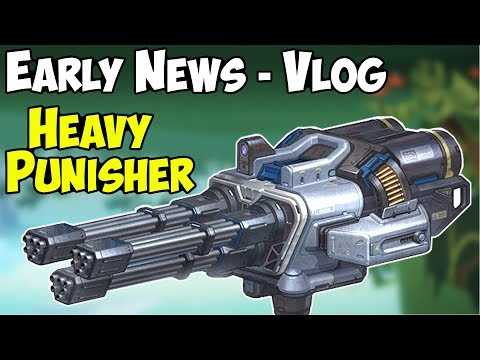 War Robots Early Test Server News: Heavy Punisher Weapon & WR Gameplay