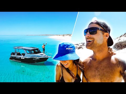 EXPLORING UNINHABITED ISLANDS Living From The Ocean (Amazing Weather) - Ep 273