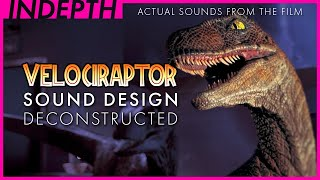 Jurassic Park Velociraptor sound design explained by Gary Rydstrom