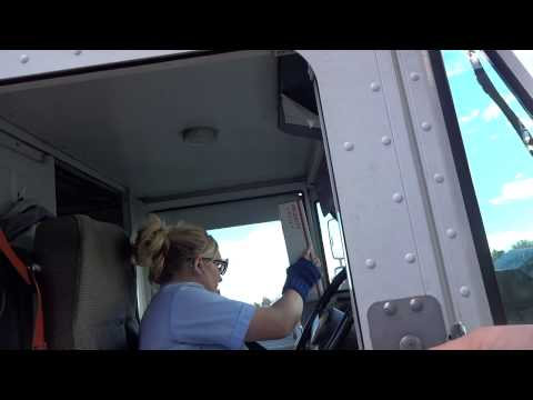 USPS Driver - YouTube