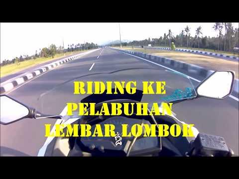 Riding Ke Pelabuhan Lembar Lombok | Ketemu Kecimol & Gendang Beleq