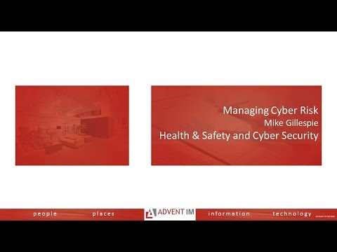 Cyber Risk for Health & Safety Professionals