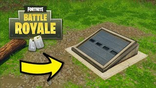 Fortnite - How to Get Inside the Wailing Woods Bunker