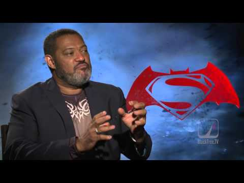Laurence Fishburne On Morpheus Vs. Batman