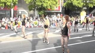 神戸まつり2011に参加!チーム名:REGGAE DISCO JAMDUNG お祭りパレ...