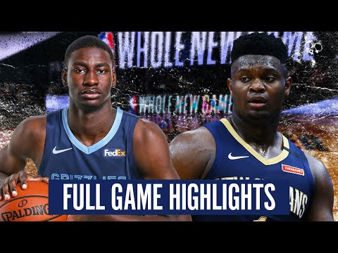 NEW ORLEANS PELICANS Vs MEMPHIS GRIZZLIES - FULL GAME HIGHLIGHTS | 2019-20 NBA Season