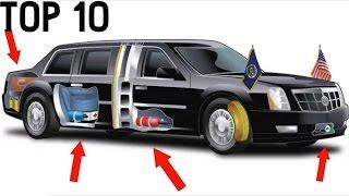 TOP 10 - ÚŽASNÝCH FAKTŮ O PREZIDENTOVĚ AUTĚ [TRUMPOVO AUTO] !!!