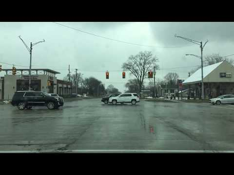 Driving to Roseville, Michigan from Detroit, Michigan