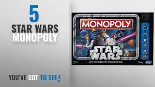 Star Wars Monopoly [2018]: Monopoly Game: Star Wars 40th Anniversary Special Edition