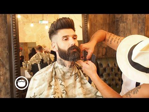 Getting a Beard Trim at the Barbershop   Carlos Costa