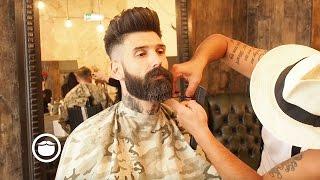 Getting a Beard Trim at the Barbershop | Carlos Costa(, 2016-09-06T13:00:06.000Z)