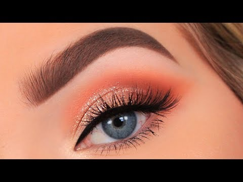 Full Glam Peach Makeup Tutorial Youtube