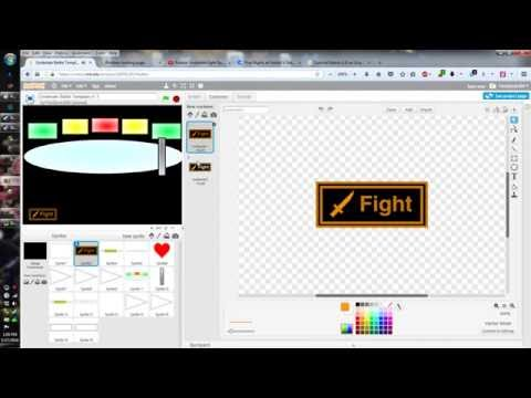 Scratch Programming - I have finally updated my game! - (Undertale Battle Template)