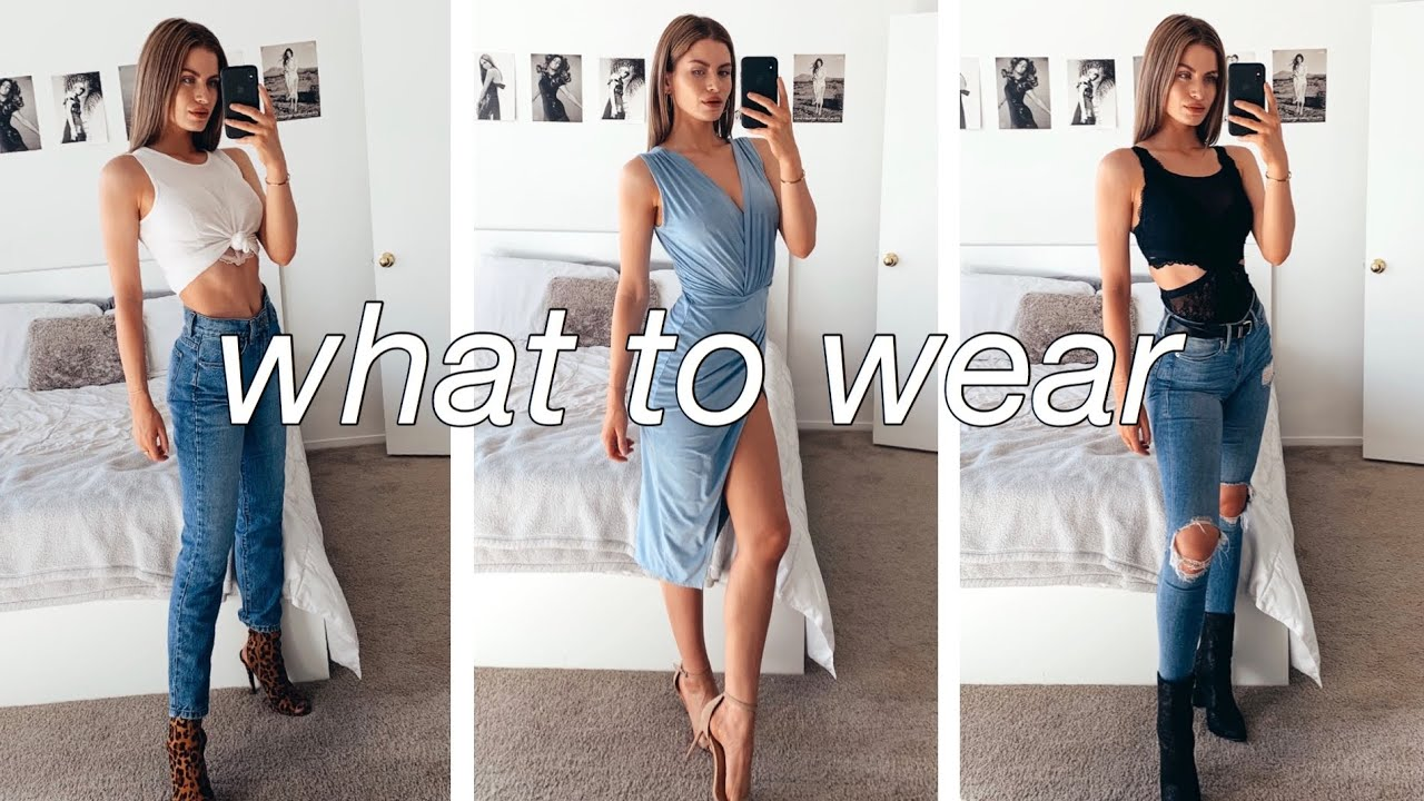 [VIDEO] - HOW TO DRESS FOR ANY OCCASION! 3 Outfit Ideas! 1