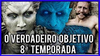 A Verdadeira Origem dos White Walkers! - Game Of Thrones 8ª Temporada