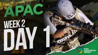 PCS4 APAC - Węek 2 Day 1   PUBG Continental Series