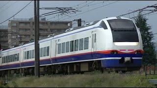 特急しらゆき5号新潟行き E653系H202編成 信越本線下り55M