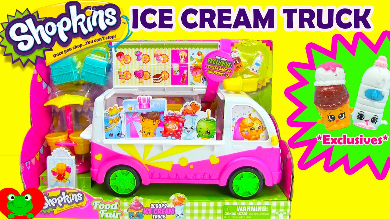 Shopkins Ice Cream Truck Season 3