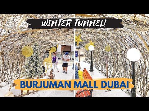 Burjuman Mall Christmas Winter Wonderland in Dubai