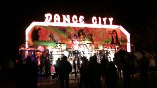 miami funfair ride dance city at thornbury round table s family fireworks fiesta
