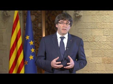 """Puigdemont: gobierno español """"fuera del Estado de derecho"""""""