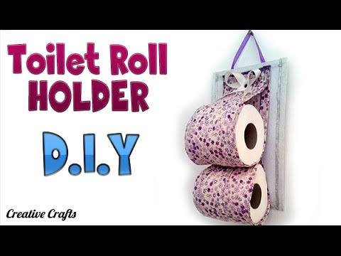 Diy Crafts Toilet Paper Roll Holder How To By