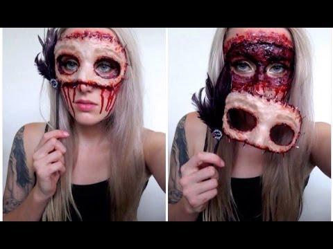 Diy masquerade flesh mask halloween tutorial youtube diy masquerade flesh mask halloween tutorial solutioingenieria Images