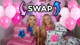 TWINS SWAP BIRTHDAY GIFTS!!!