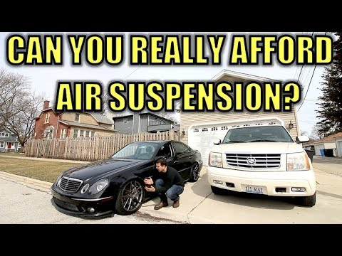 Here's How Much The Cadillac & Mercedes Dealer Want To Fix My Air Suspension. Plus DIY Option.